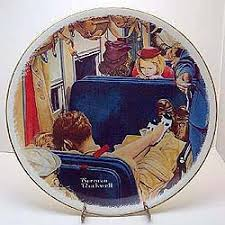 guest plate uninvited guest collector plate by norman rockwell