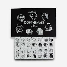 domino david shrigley domino set work new museum store