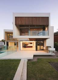 white ultra modern house plans large open terrace beautiful