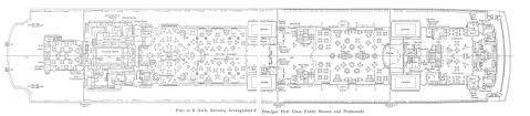 Deck Floor Plan by Mareng V027p678 679 Leviathan Bdeck Plan 150dpi Jpg 2350 518
