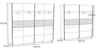 dimension porte chambre armoire adulte contemporaine 2 portes chêne bergerac svelta