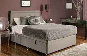 Ottoman Storage Bed Frame by New Chenille Ottoman Storage Divan Base With 7 Colour Options