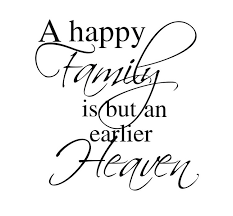 happy family quality vinyl black wall sticker quotes bedroom