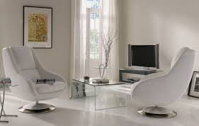Living Room  Brilliant Living Room Idea Implemented With Soft - Modern swivel chairs for living room