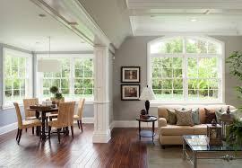 LovelySeagrassDiningChairsDecoratingIdeasGalleryinFamily - Family room window ideas