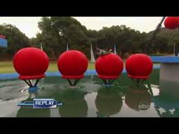 tv show wipeout cool flip on big balls
