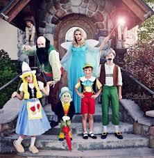 Pinocchio Halloween Costume Family Costume