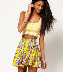 summer skirts 7 flirty floral skirts for summer