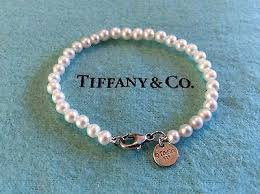 tiffany bracelet pearl images Tiffany co sterling silver ziegfeld collection pearl bracelet jpg