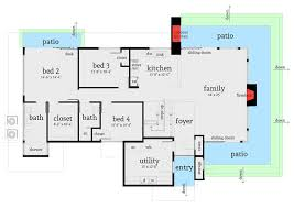 ultra modern 4 bed house plan 44123td architectural designs