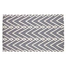 Black And White Zig Zag Rug Grey And Cream Chevron Rug Roselawnlutheran