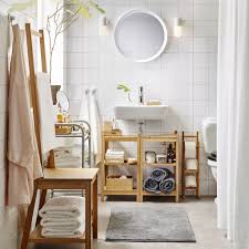 bathroom ikea more space naturally bathroom towel storage