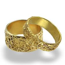 gold bands rings images Wires weddings band set wedding rings women wedding band mens jpg