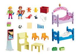 chambre enfant playmobil chambre d enfants avec lits superposés 5306 playmobil