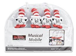 amazon com trend lab dr seuss mobile cat in the hat nursery