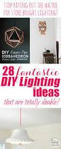 Diy Lighting Ideas For Bedroom 233 Best Very Cool Diy Light Fixtures Images On Pinterest