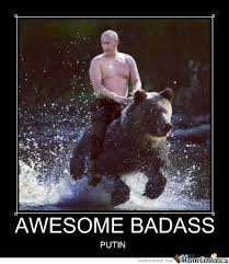 Bad Ass Memes - badass putin by dasding18 meme center