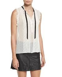 swiss dot blouse joie toledo swiss dot sleeveless blouse