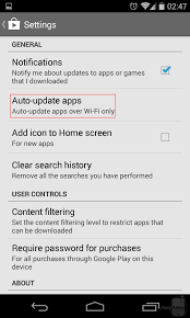 android disable auto update how to turn auto updates for apps and on android
