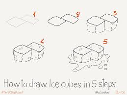 how to draw ice cubes mauro toselli flickr