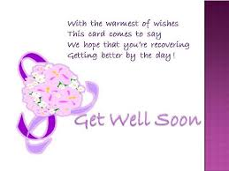 a get well wish for your dear one free get well soon ecards 123