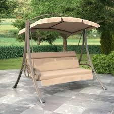 patio ideas patio swing with canopy replacement patio swing