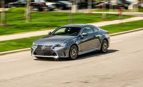 lexus rc f sport 2017 2017 lexus rc350 f sport rwd test review car and driver