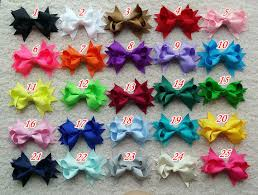 the ribbon boutique wholesale 50 pcs 3 5 inch hair bow wholesale hairbows girl hair bow