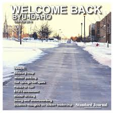 Byui Map Welcome Back Byu Idaho Winter 2016 By Standard Journal Issuu