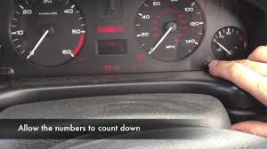 peugeot 406 service reminder reset and deactivation youtube