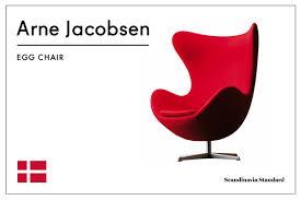 six classic scandinavian mid century modern chairs arne jacobsen