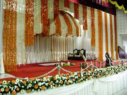 simple hindu wedding stage decoration wedding mandap toronto