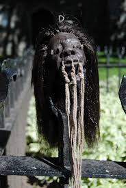 Halloween Prop Making by Propnomicon Making A Shrunken Head Costume Voodoo Priest