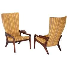 1960s wingback chairs 97 for sale at 1stdibs