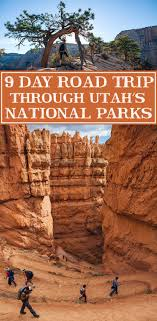 Utah travel meaning images Driving the utah national parks 9 day road trip annual adventure jpg