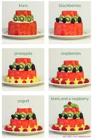 how to make a watermelon cake eat spin run repeat