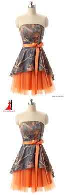 camo and orange wedding dresses the 25 best camouflage prom dress ideas on camo prom