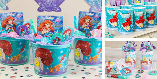 mermaid party supplies mermaid party favors stickers bubbles bracelets candy