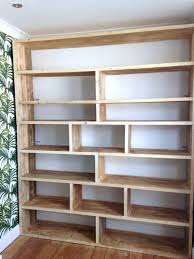 Cream Wood Bookcase Best 25 Large Bookcase Ideas On Pinterest Wooden Bookcase