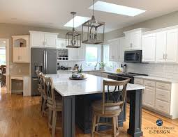 what paint color goes best with gray kitchen cabinets the 4 best paint colours for kitchen island or lower
