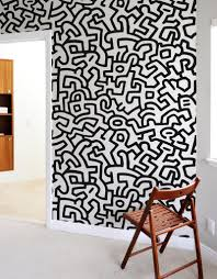 Giant Wall Murals by Popshop Giant Wall Murals By Keith Haring Giant Wall Stickers