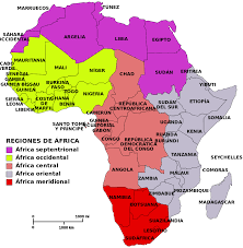 mapa de africa mapa de paises y regiones de africa epicentro geográfico