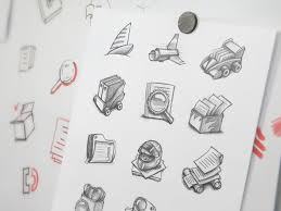 mac app icon sketching by ramotion dribbble