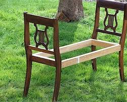 Simple Outdoor Bench Seat Plans by Best 25 Wooden Bench Seat Ideas On Pinterest Wooden Dining