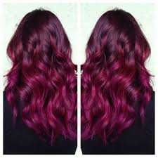 raspberry hair color love it hairspiration pinterest