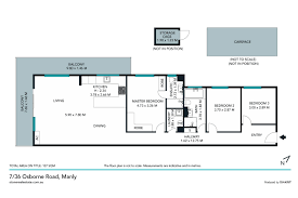 The Panorama Floor Plan by 7 36 Osborne Road Manly 2095 Nsw Stone Real Estate