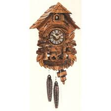 clock owl and bear