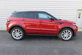 red land rover used land rover range rover evoque red for sale motors co uk