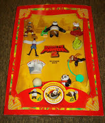 kung fu panda 2 mcdonalds toy cardboard display happy meal lot