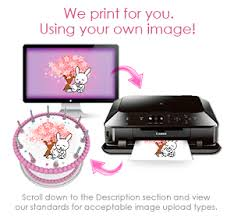 where to print edible images custom edible images for cakes